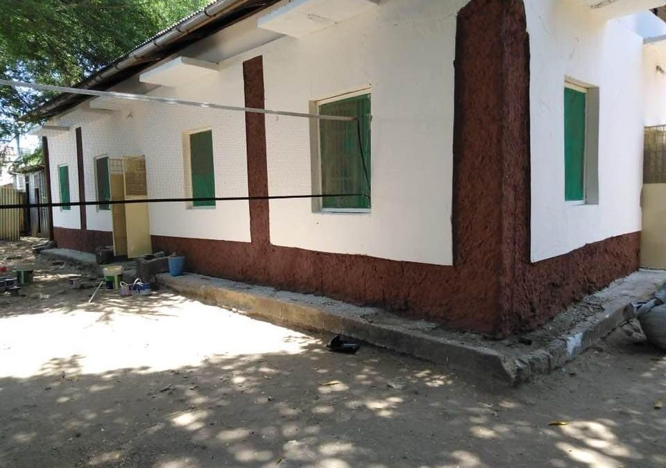 Orphanage receives a makeover